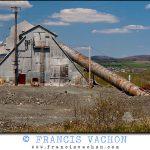 Asbestos mining in Thetford Mines