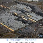 Aerial photography: Quebec city's shopping malls