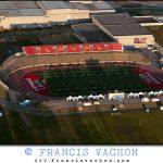Aerial photography: Stade du PEPS de L'universite Laval stadium