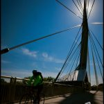 Esplanade Riel bridge, Winnipeg