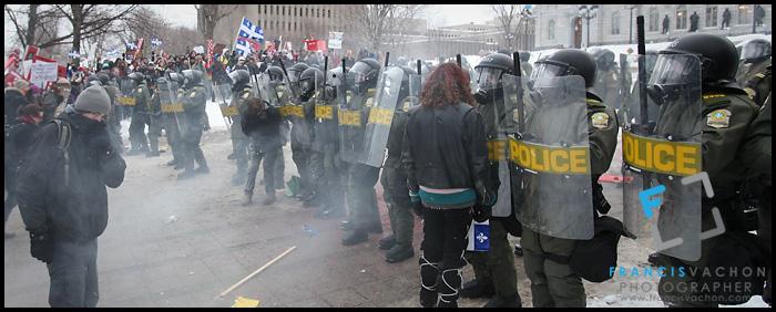 Manifestation étudiante 2012