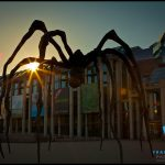 Maman sculpture in front of National Gallery of Canada