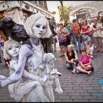 Les Arts de la rue du Festival d'Été de Québec: La Dame Blanche