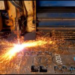Industrial photography at a Steel plant manufacturer