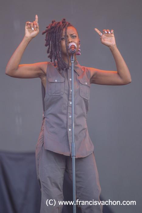 Kelela au Festival d'été de Québec