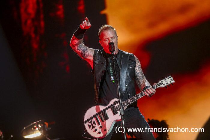 Metallica au Festival d'été de Québec