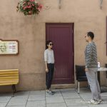 « Guardian: The Lonely and Great God » TV show red door in Quebec City