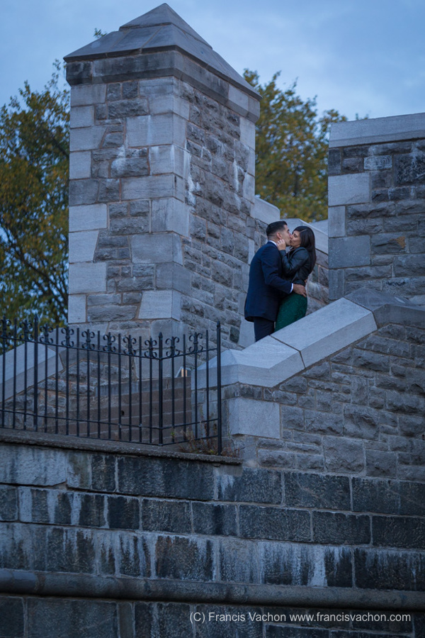 Engagement photography Quebec city