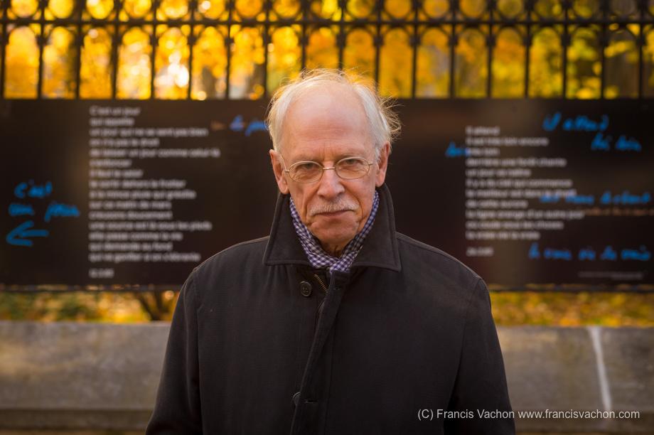 Pierre Morency à Québec le 23 octobre 2017. Photo Francis Vachon pour Le Devoir.