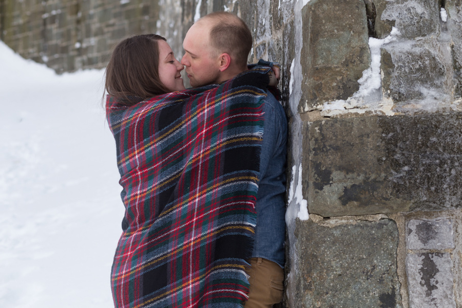 Engagement photography in Quebec City