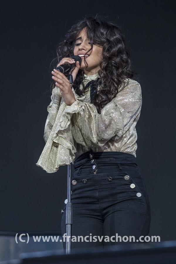 Camila Cabello au Festival d'ŽtéŽé de QuŽbec le 8 juillet 2018
