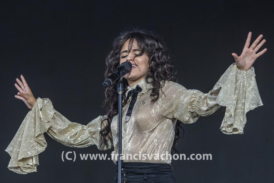 Camila Cabello au Festival d'?té?é de Qu?bec le 8 juillet 2018