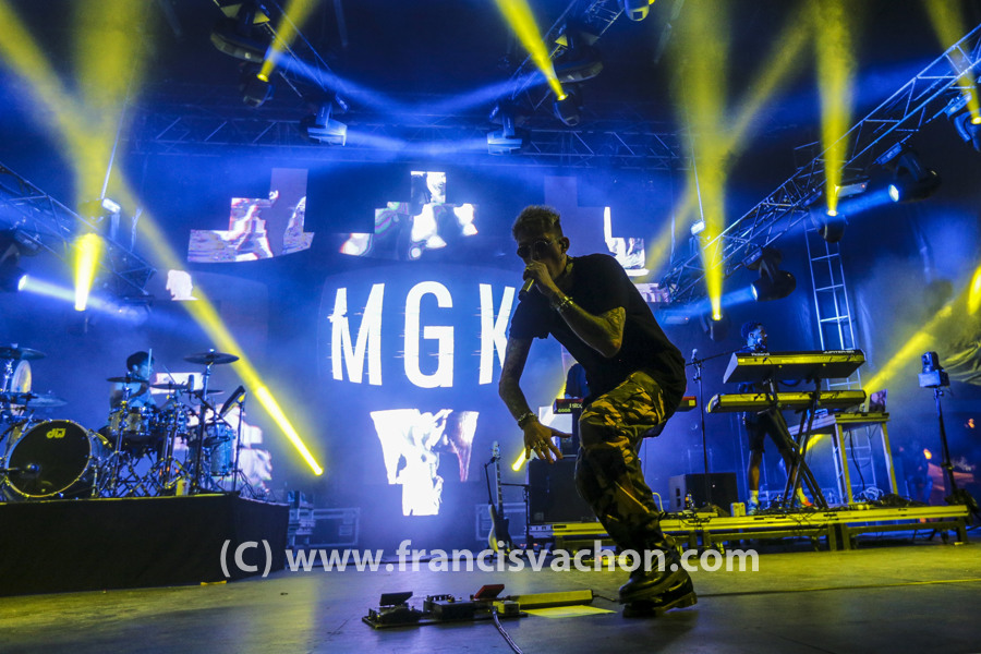 Machine Gun Kelly au Festival d'été de Québec