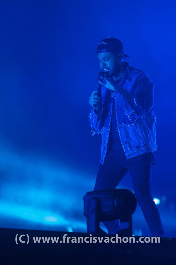 The Weeknd au Festival d'été de Québec