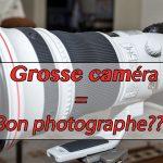 Est-ce que la caméra fait le photographe?