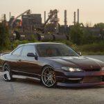 Photos pour un calendrier de voitures exotiques: Nissan Silvia 1995
