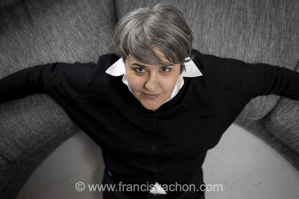 L'autrice Sophie Létourneau à son domicile de Québec le 2 mars 2020. Photo Francis Vachon pour Le Devoir.