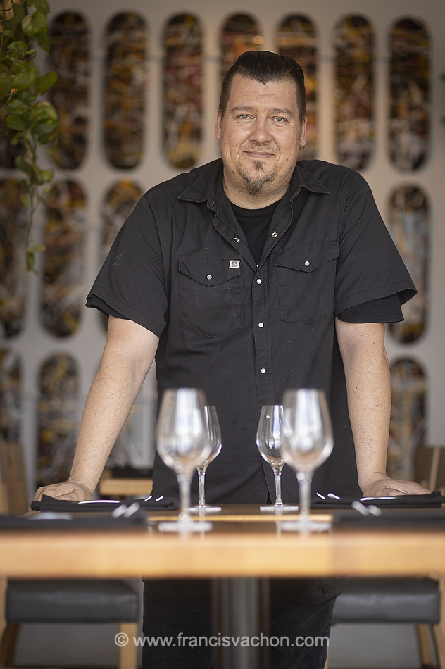 Benoît Poliquin du restaurant Albacore