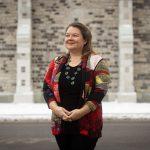 Portrait de l'historienne Catherine Ferland