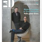 Portrait: Yves Jacques et Robert Lepage