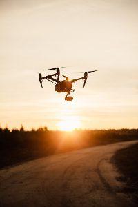 Drone de plus de 250g en vol